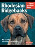 Rhodesian Ridgebacks (Barron's Complete Pet Owner's Manuals)