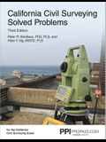 Ppi California Civil Surveying Solved Problems, 3rd Edition (Paperback) - Comprehensive Practice for the California Civil Surveying Exam