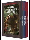 The Young Adventurer's Collection [dungeons & Dragons 4-Book Boxed Set]: Monsters & Creatures, Warriors & Weapons, Dungeons & Tombs, and Wizards & Spe