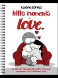 Catana Comics: Little Moments of Love 16-Month 2021-2022 Monthly/Weekly Planner