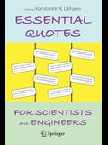 Essential Quotes for Scientists and Engineers