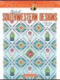 Creative Haven Stylish Southwestern Designs Coloring Book