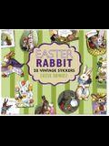 Easter Rabbit Sticker Box
