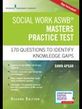 Social Work Aswb Masters Practice Test: 170 Questions to Identify Knowledge Gaps (Book + Digital Access)