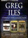 Greg Iles CD Collection: The Quiet Game, Turning Angel, and Blood Memory