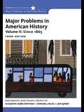 Major Problems in American History, Volume II