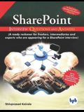 SharePoint Interview Questions and Answers: Get the birds eye view of what is required in SharePoint interviews (English Edition)
