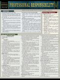 Professional Responsibility: A Quickstudy Laminated Reference Guide
