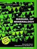 Manual of Mineralogy (Revised) [With *]
