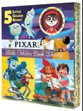 Pixar Little Golden Book Library (Disney/Pixar): Coco, Up, Onward, Soul, Luca