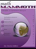 Math Mammoth Grade 3 Answer Keys
