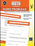 Singapore Math – Challenge Word Problems Workbook for 3rd, 4th, 5th Grade Math, Paperback, Ages 8–9 with Answer Key