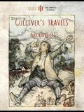 Gulliver's Travels: Unabridged & enhanced with 12 colour plates and 78 line drawings (Aziloth Books)