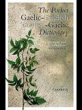 The Pocket Gaelic-English English-Gaelic Dictionary