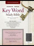The Hebrew-Greek Key Word Study Bible: CSB Edition, Black Bonded