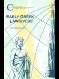 Early Greek Lawgivers