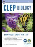 Clep(r) Biology Book + Online