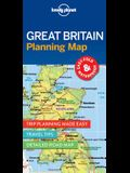 Lonely Planet Great Britain Planning Map 1