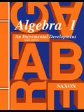 Saxon Algebra 1 Solutions Manual Third Edition