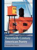 The Cambridge Introduction to Twentieth-Century American Poetry