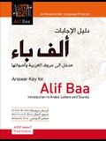 Answer Key for Alif Baa: Introduction to Arabic Letters and Sounds, Third Edition