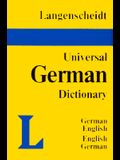 Langenscheidt Universal Dictionary: German/English-English/German