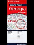 Rand McNally Easy to Read! Georgia State Map