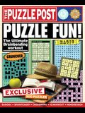 The Puzzle Post: Puzzle Fun!: The Ultimate Brainbending Workout