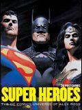 Super Heroes: The DC Comics Universe of Alex Ross: 30 Postcards