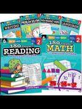 180 Days of Second Grade Practice, 6-Book Set