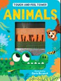 Touch-And-Feel Tower Animals