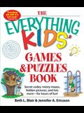 The Everything Kids' Games & Puzzles Book: Secret Codes, Twisty Mazes, Hidden Pictures, and Lots More - For Hours of Fun!