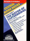 Thomas Hardy's the Mayor of Casterbridge (Barron's Book Notes)