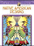 Creative Haven Native American Designs Coloring Book