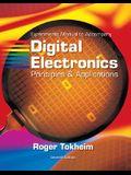 Digital Electronics Experiments Manual: Principles & Applications [With CDROM]
