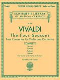 Antonio Vivaldi - The Four Seasons, Complete: Schirmer Library of Classics Volume 2047