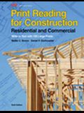 Print Reading for Construction: Residential and Commercial [With Paperback Book]