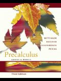 Precalculus: Graphs and Models Graphing Calculator Manual Package (3rd Edition)