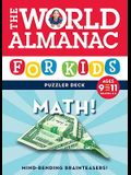 The World Almanac for Kids Puzzler Deck: Math, Ages 9-11, Grades 4-5