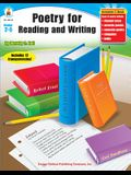 Poetry for Reading and Writing, Grades 2 - 5
