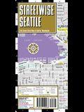 Streetwise Seattle Map - Laminated City Center Street Map of Seattle, Washington