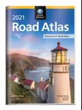 Rand McNally 2021 Road Atlas with Protective Vinyl Cover