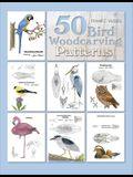 50 Bird Woodcarving Patterns