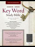 The Hebrew-Greek Key Word Study Bible: CSB Edition, Black Genuine