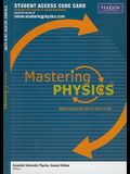 MasteringPhysics -- Standalone Access Card -- for Essential University Physics (Mastering Physics (Access Codes))