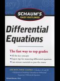 Schaum's Easy Outlines Differential Equations