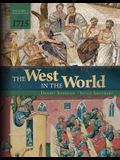 The West in the World Vol 1 to 1715
