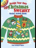 Design Your Own Ugly Christmas Sweater Sticker Activity Book
