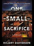 One Small Sacrifice (Shadows of New York)