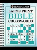 Brain Games Large Print Bible Crosswords